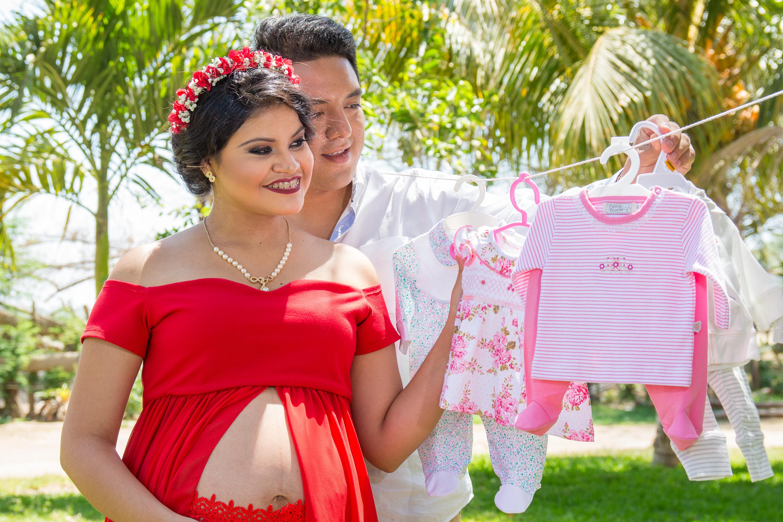 Sesión de Embarazo Sra. Vanesa